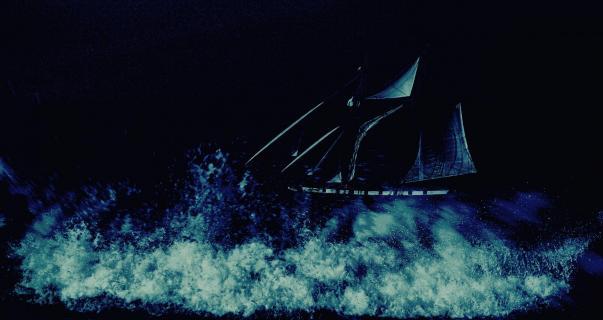 Nachts im Atlantik