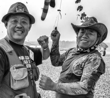 Kite Club Portraits