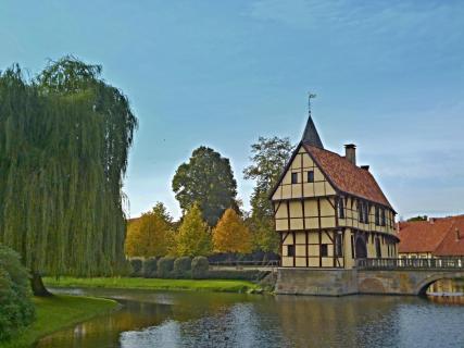 Burgvorhof im Münsterland