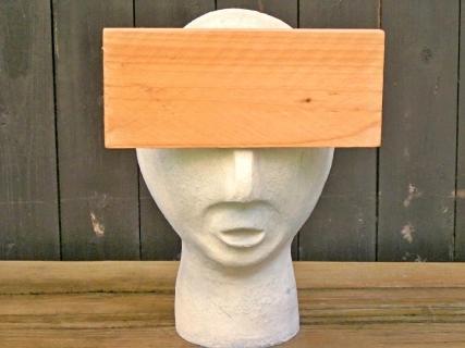 Brett vorm Kopf