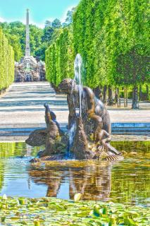Venusspringbrunnen Schloß Schönbrunn