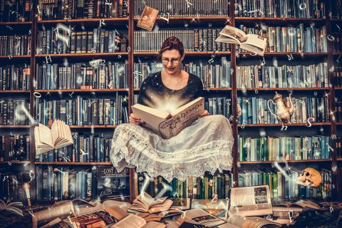 Books are unique portable magic