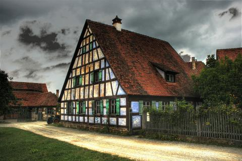 Bauernhaus Freilandmuseum Bad Winsheim