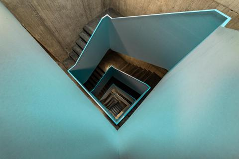 Turquoise Stairs