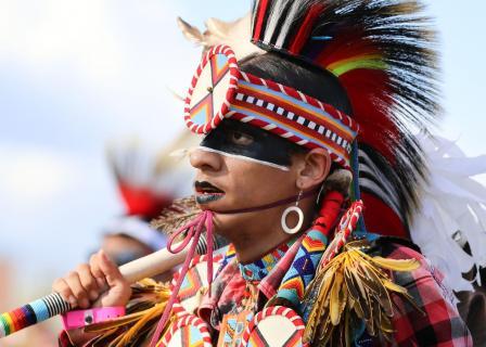 Junger Creek Indianer