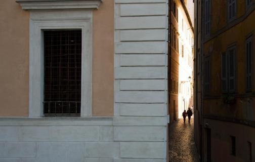 Gasse in Rom