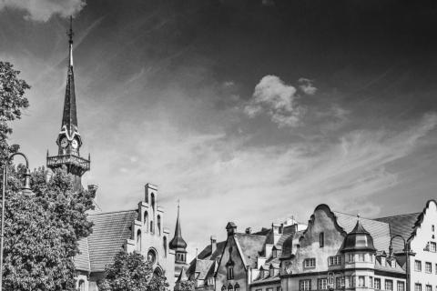 Skyline Stadt Nauen