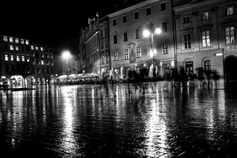 Marienplatz in Krakau