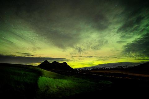 Islands grüne Lichter