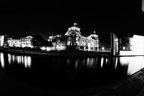 Reichstag im Lichte