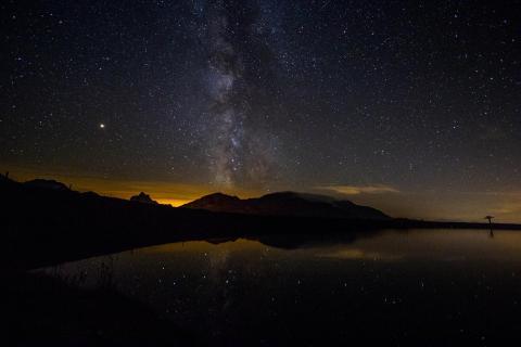 Spiegel voller Sterne