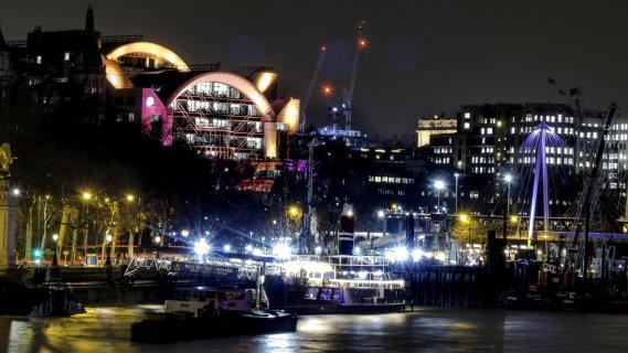 London - Bahnhof u. Hafen