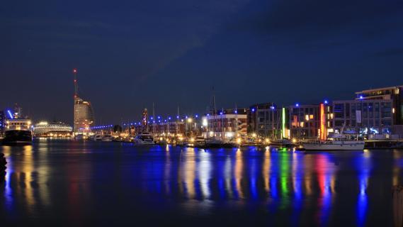 Bremerhaven   Nachtidylle