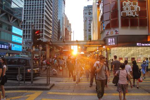 Sundowner in Hongkong