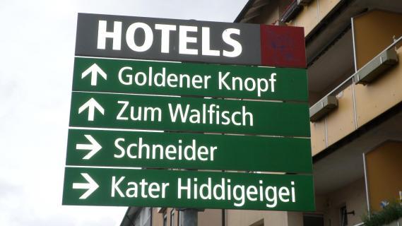 Hotel «Kater Hiddigeiei»