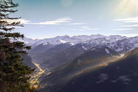 Bergpanorama bei Großarl