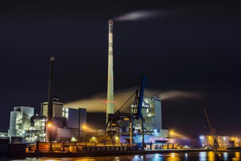 Kraftwerk Hafen