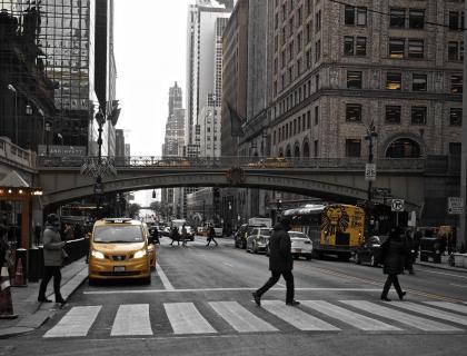 New Yorker Streetlife