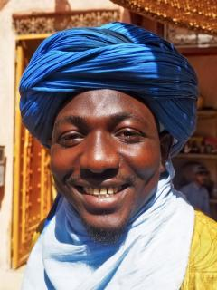 Marokkanisches Lächeln