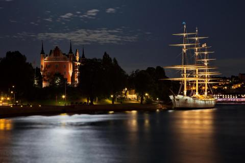 Nacht in Stockholm