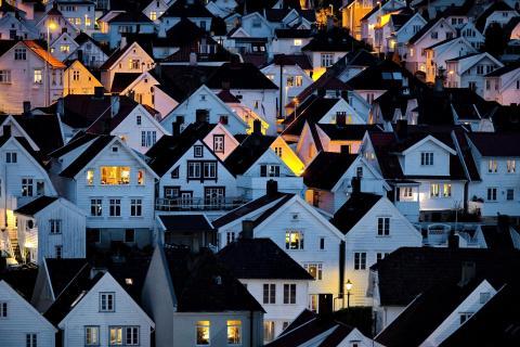 Nachts in Stavanger