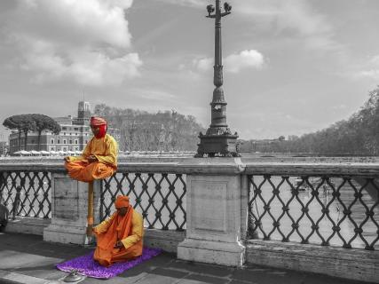 Meditation in Rom