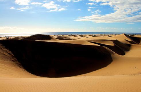 Morgen Wüste