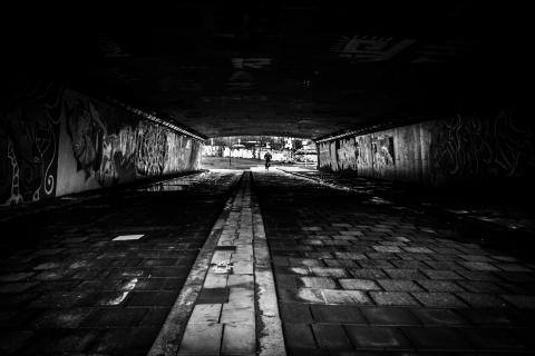 Tunnel im berenkuil