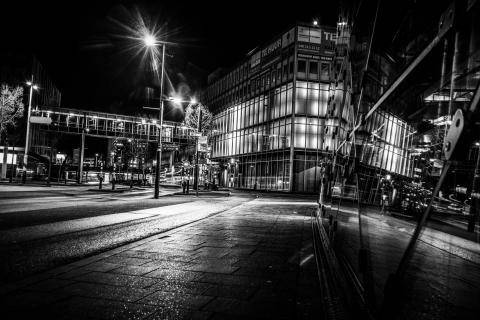 Eindhoven bei Nacht