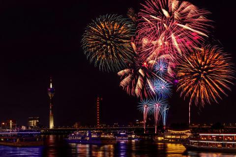 Feuerwerk Japantag