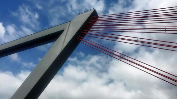Flughafenbrücke Düsseldorf A44