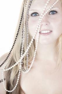 Perlenmädchen