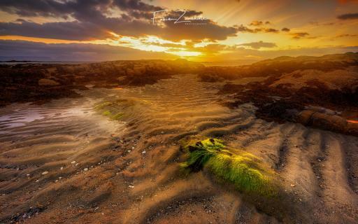 Sonnenuntergang Westküste Schottland