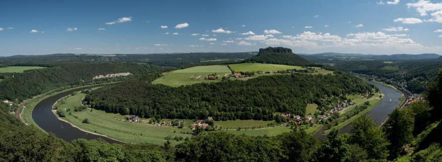Elbe Königstein Linlienstein I