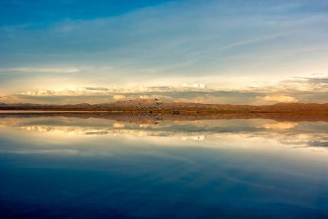 Altiplano, Bolivien, Salar de Uyuni