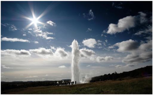 Der Strokkur in Island
