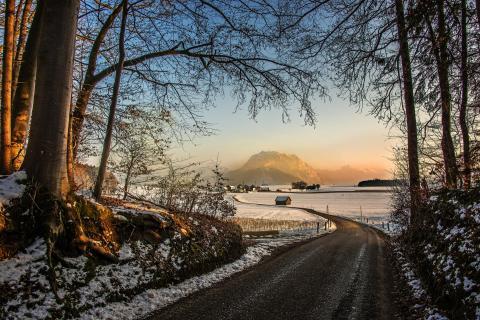 23 Landschaft im Abendlicht_Friedrich_Fuchshuber
