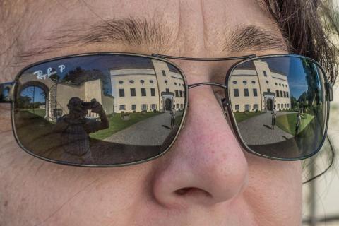 Brillen Spiegelung