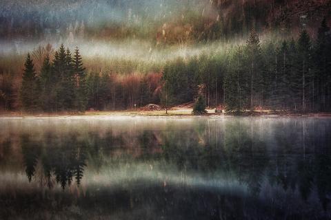 Nebel zieht ab