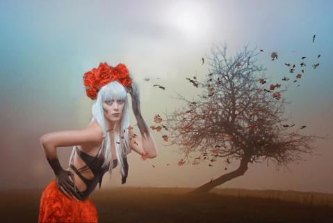 Blätterwind