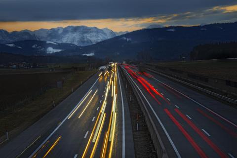 Schönheit Autobahn