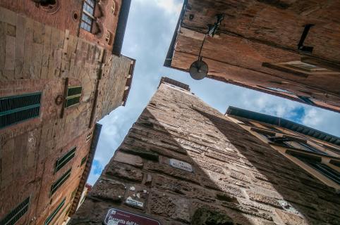 In den Gassen von Lucca