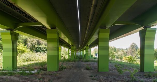 Unter der A72
