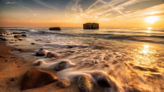Strand mit Geschichte...