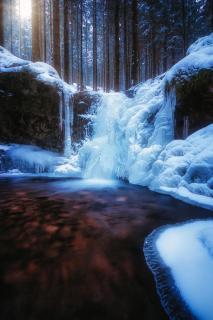 frozen falls...