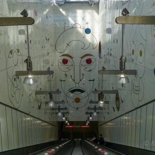 Abgang zur U-Bahn