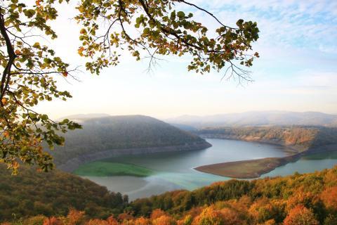 Herbst am Edersee