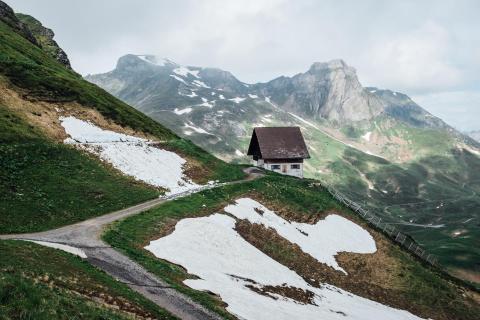 Schnee im Juni
