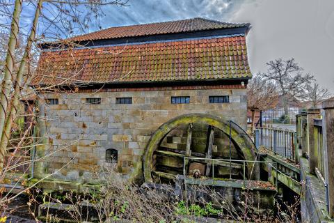 Die alte Wassermühle