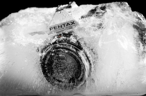 Pentax in Ice
